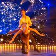 """Loïc Nottet évoque son passé difficile à l'école dans """"Danse avec les stars 6"""", sur TF1. Le 12 décembre 2015."""