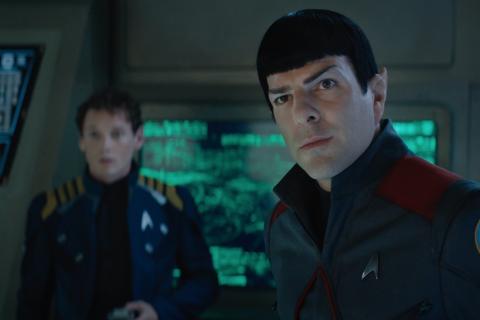 """Star Trek 3 : Bande-annonce rock'n'roll avec une Frenchie """"Sans Limites"""""""