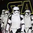 """Première européenne de """"Star Wars : Le réveil de la force"""" au cinéma Odeon Leicester Square de Londres le 16 décembre 2015."""