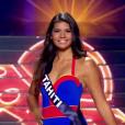 Miss Tahiti - Les 31 Miss défilent en Super Woman, lors de l'élection Miss France 2016 le samedi 19 décembre 2015 sur TF1