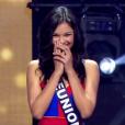 Miss Réunion, choisie parmi les 12 finalistes, lors de l'élection Miss France 2016 le samedi 19 décembre 2015 sur TF1