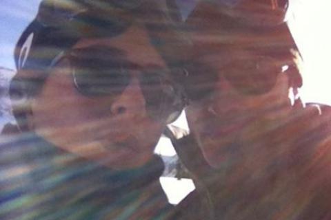 Jennifer Aniston, Justin Theroux : Romantique selfie, en vacances au ski