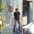 Hayden Christensen sur le tournage d'une pub