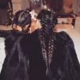 Kim Kardashian et sa fille North West à la soirée de Noël organisée par Kris Jenner / photo postée sur le compte Instagram de Kim Kardashian, le 28 décembre 2015.