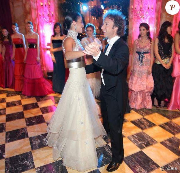 Stéphane Bern danse avec princesse... qui n'est pas une patate