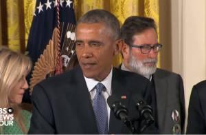 Barack Obama, en larmes : Le douloureux souvenir des enfants tués à Sandy Hook