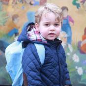 Prince George écolier : Adorable pour sa première rentrée, devant Kate Middleton