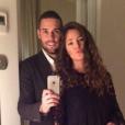 Malena Costa et Mario Suarez à Florence le 19 décembre 2015.