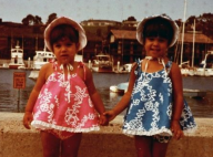 Kim et Kourtney Kardashian, enfants : La photo improbable postée par leur maman