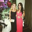 Kristina Macmillan et sa soeur - Photo publiée le 1er janvier 2016