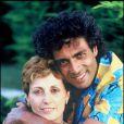 Enrico Macias et Suzy en 1986.