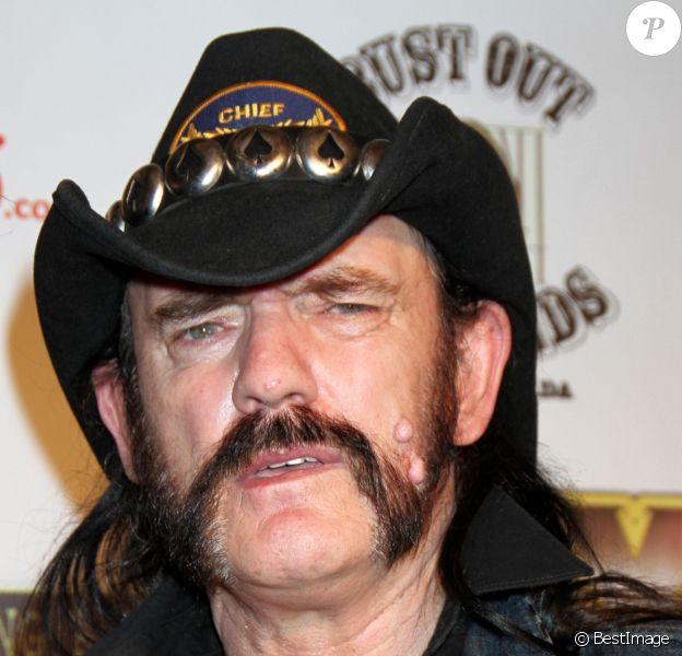 Lemmy Kilmister à Las Vegas en 2010.