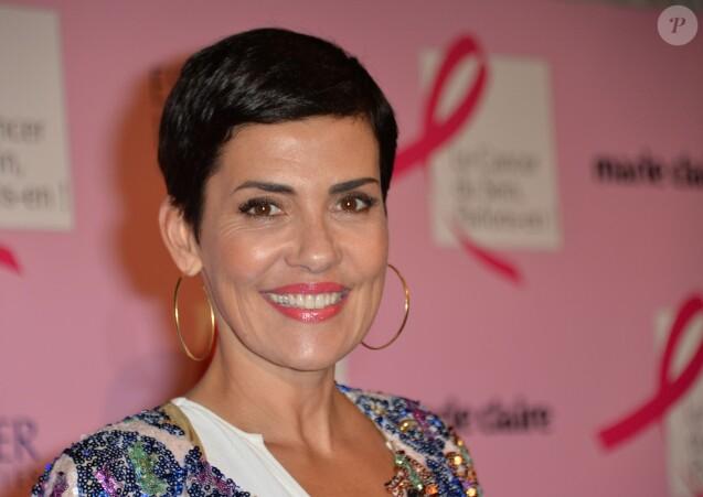 Cristina Cordula - Soirée de lancement d'Octobre Rose (le mois de lutte contre le cancer du sein) au Palais Chaillot à Paris le 28 septembre 2015.