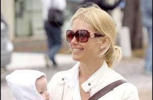 REPORTAGE PHOTOS : Valeria Mazza, sa famille... son seul bonheur!