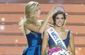 Iris Mittenaere (Miss France 2016) souhaite une bonne rentrée à Camille Cerf