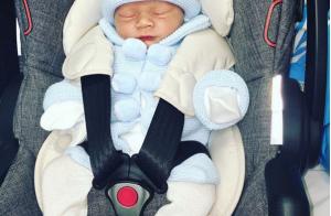 Coleen Rooney : Ses fils Kai et Klay sous le charme de leur petit frère Kit