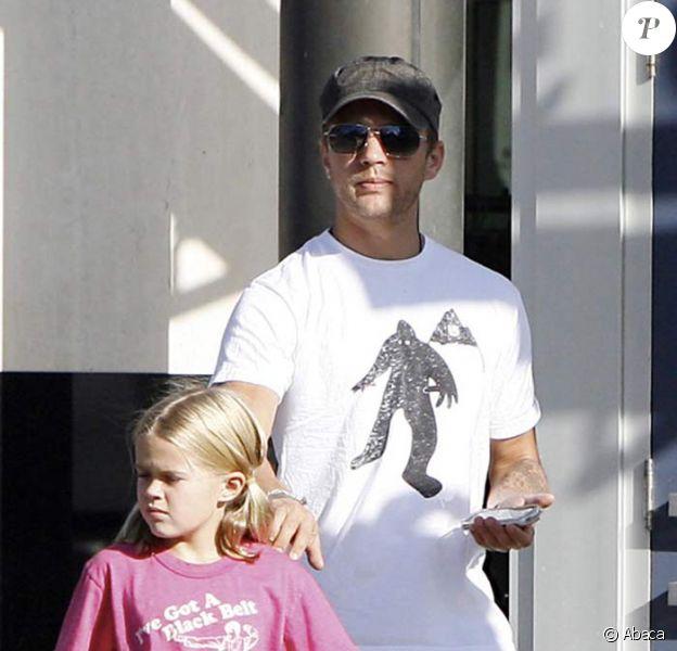Ryan Phillippe et sa fille Ava