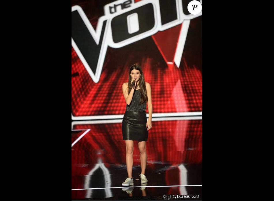 Adelice Bijotat : La fille de Dominique Bijotat samedi 6 février dans The Voice 5