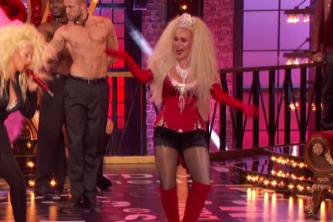 "Christina Aguilera surprend Hayden Panetierre faire sa ""Lady Marmelade"" !"