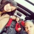 Hayet Abidal et ses filles