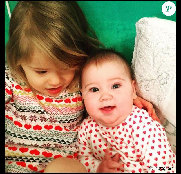 Poppy et Mila, les filles Jenna Bush Hager. Instagram, février 2016