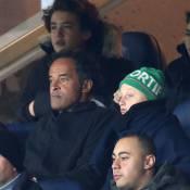PSG - Chelsea : Yannick Noah et Joalukas soulagés au côté de Laurent Delahousse