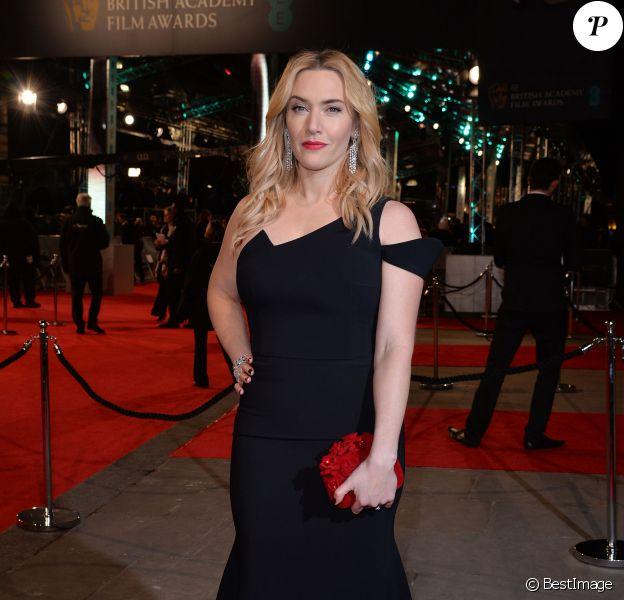 Kate Winslet - La 69e cérémonie des British Academy Film Awards (BAFTA) à Londres, le 14 février 2016