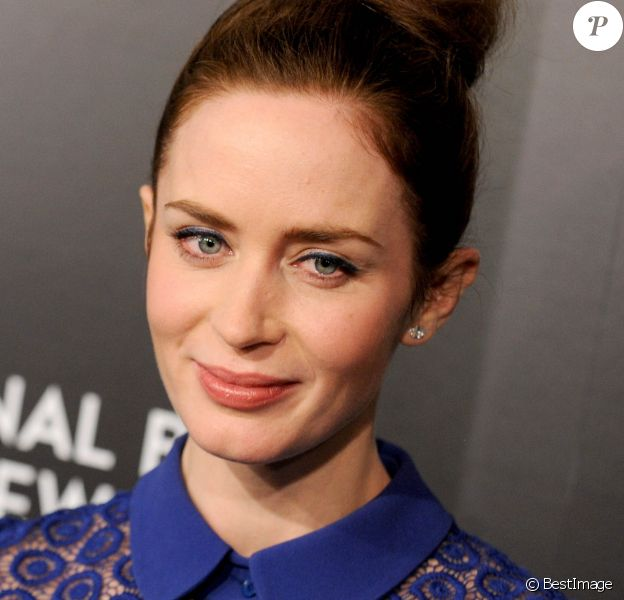 Emily Blunt - People au National Board of review gala 2015 à New York le 5 janvier 2015.