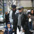 Madonna, Guy Ritchie et le petit Rocco