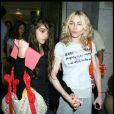 Madonna et Lourdes