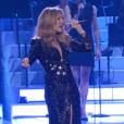 Céline Dion remontait sur scène pour la première fois depuis la mort de René Angélil, le 23 février 2016 à las Vegas