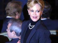 REPORTAGE PHOTOS : L'élégante Mélanie Griffith, très fière de son mari !