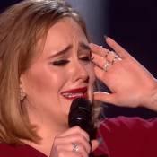 Brit Awards 2016 : Triomphe absolu d'Adele... Larmes, gros mots et soutien à Kesha