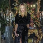 Fashion Week : Natasha Poly et Carine Roitfeld ultrastylées pour Roberto Cavalli
