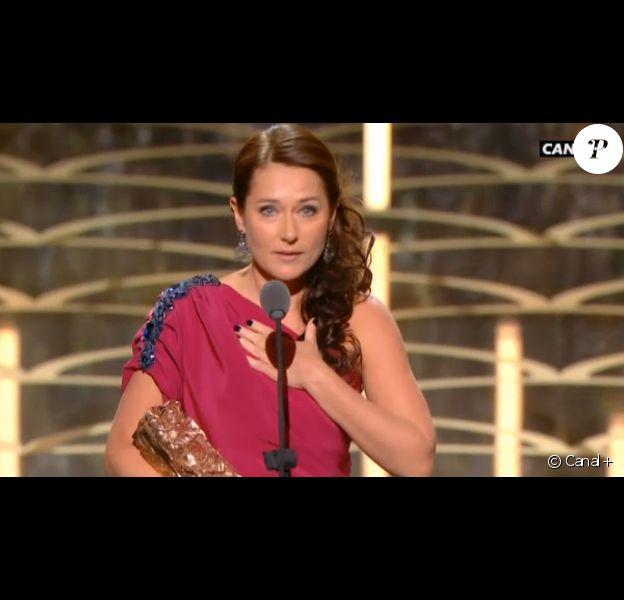 Sidse Babett Knudsen (L'Hermine) obtient le César du meilleur second rôle - 26 février 2016