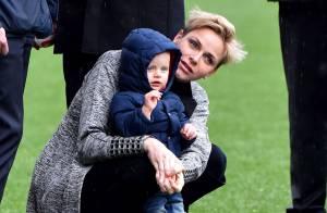 Charlene de Monaco : Moment de tendresse avec son fils Jacques sur le Rocher