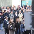 Laura Smet et nathalie Baye aux obsèques de Guillaume Depardieu