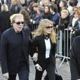 Arielle Dombasle aux obsèques de Guillaume Depardieu