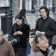 Benjamin Biolay et Alysson Paradisaux obsèques de Guillaume Depardieu