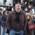 Laurent Gamelon aux obsèques de Guillaume Depardieu :