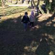 Lola Bigard : Ses jumeaux Juiles et Bella à la campagne
