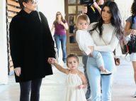 Kourtney Kardashian : Stylée pour un week-end détente en famille