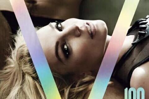 Britney Spears méconnaissable : Photoshopée à mort en couverture de V magazine