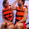 Tête à tête avec Linda sur un jet-ski pour Marco dans Le Bachelor, sur NT1, le lundi 7 mars 2016