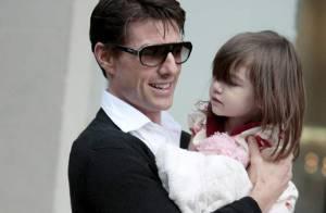REPORTAGE PHOTOS : Suri Cruise, son papa rien que pour elle !