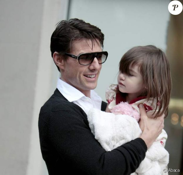 Tom Cruise et sa petite Suri