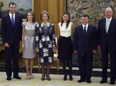 REPORTAGE PHOTO : Quand les divines Rania de Jordanie et Letizia d'Espagne se rencontrent, c'est le big bang de l'élégance !