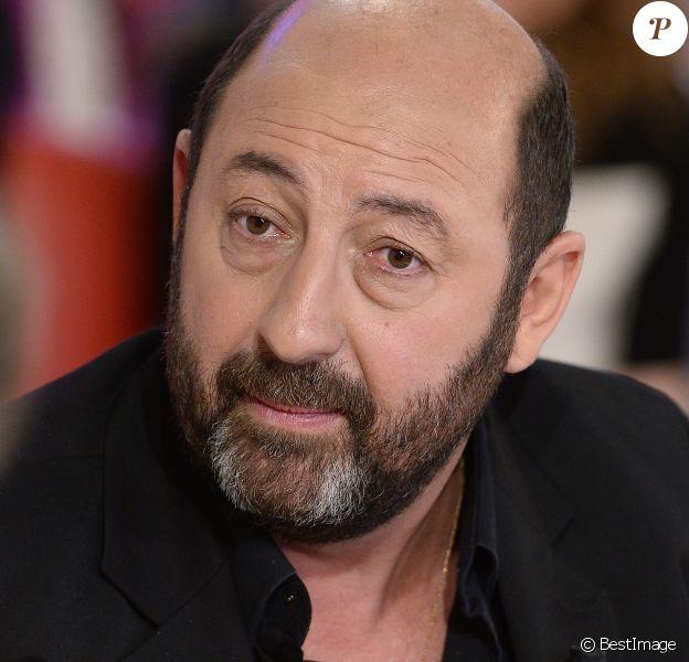 """Kad Merad - Enregistrement de l'émission """"Vivement Dimanche"""" à Paris le 16 Septembre 2015"""