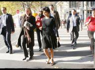 REPORTAGE PHOTOS : Rachida Dati, elle adopte enfin... la bonne tenue !