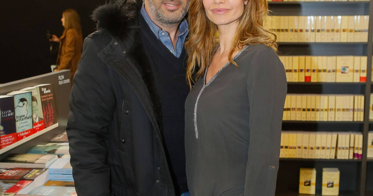 Ingrid chauvin et son mari thierry peythieu au salon du for Salon a porte de versaille